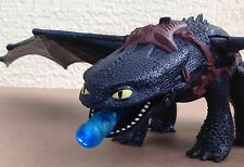 "How to Train Your Dragon BIG Toothless Night Fury 26"" Wingspan Light Sound toy"