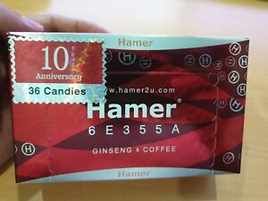 X1 Authentic Hamer Coffee Candy Herbal Male Enhancement 36pcs