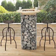 [pro.tec] gabionen table 115x70cm jardin de bar Panier pour Pierre haute
