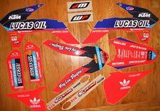 TROY LEE LUCAS OIL RACING KTM GRAPHICS KIT 85/105 SX 2013 2014 2015  N40-5712