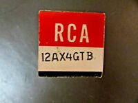 12AX4GTB RCA VINTAGE VACUUM TUBE, (NEW IN BOX / NEW OLD STOCK)