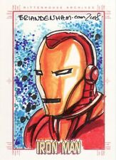 Rittenhouse Iron Man 1st Movie Brian Denham Sketch Card
