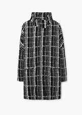 Bnwt Mango Oversized Textured Coat Size M RRP. £99.99
