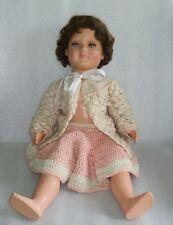 """Rare Very Nice Vintage 23"""" Celluloid? Doll, Glass Eyes, Germany?"""