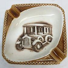Vintage Ceramic Ashtray/ Japan Truck