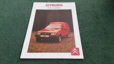 1988 CITROEN C15 E & SUPER PETROL / C15 D DIESEL VAN Visa - UK BROCHURE K2580