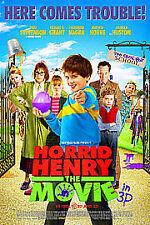 Horrid Henry - The Movie (3D Blu-ray, 2011)