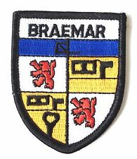 Braemar Scotland Embroidered Patch (AO63D)
