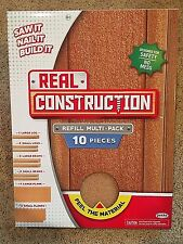 NEW Jakks Real Construction Refill Multi-Pack 10 Pieces