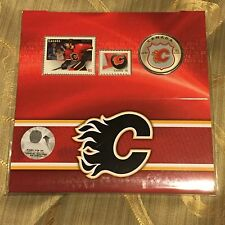 NHL ® Coin and Stamp Gift Set - Calgary Flames ® (2014)