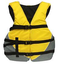 Yellow Adult Universal Oversize Life Vest Water Ski Jacket Vest PFD XXL 3XL 4XL