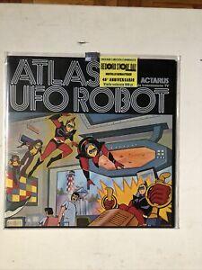 ATLAS UFO ROBOT GOLDRAKE Disco LP 33 Giri Vinile Numerato 1633/3000 Cover Poster