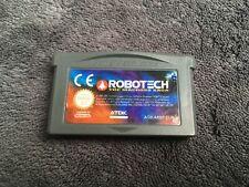 Nintendo Game Boy Advance Robotech The Macross Saga EUR Très Bon état