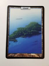 Island - Full Art - Unhinged (Magic/mtg) Land