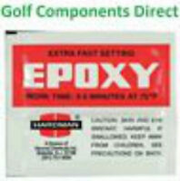 Extra Fast Setting Shafting Epoxy Sachet - Golf Shaft Glue - 3.5g EPQS