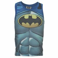 Boys ~ Batman ~ T-Shirt/Vest Top ~ Sizes 2 To 13 Years