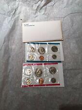 Four total US Mint Uncirculated Coin Sets P&D Mints 1973