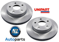 For Jeep - Grand Cherokee 2.7 CRD Vented Front Brake Discs Pair Unipart