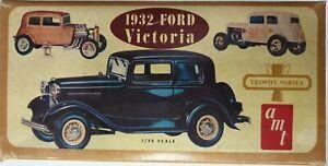 Vintage PART-BUILT AMT Trophy Series Ford Victoria 1932 1/25