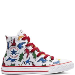 CONVERSE Kinder CHUCKS Dinos Dinoverse Dinosaurier 663636c T-REX  High Sneaker