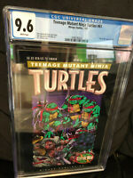 Teenage Mutant Ninja Turtles 61 CGC 9.6 NM+ White pages
