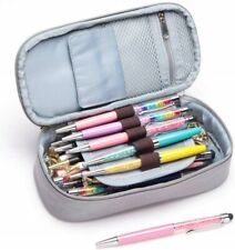 Pencil Case School Student Pen Holder Organizer Stationery Makeup Cosmetic Pouch