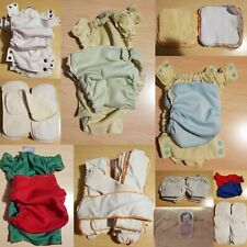 Cloth Diaper Stash Sprout Change Covers, Bamboo/Microfiber Inserts, TrainingPant
