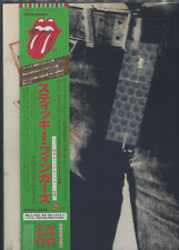 """ROLLING STONES """"Sticky Fingers"""" CD 12"""" Sleeve Japan"""