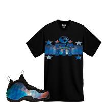 8c344c43f5f WeWillFit shirt to match NIKE AIR FOAMPOSITE ONE XX QS Alternate Galaxy Big  Bang