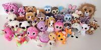 Ty Boos Yoo Hoo Cats Giraffe Jesse Trixi Peanut Owl Dog Soft Phone Holder Bundle