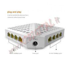 HUB SWITCH SG80 TENDA 8 PORTE 10/100/1000 ETHERNET SDOPPIATORE GIGA LAN GIGABIT