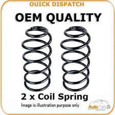2 X REAR COIL SPRINGS  FOR CITROÃ‹N C4 I AH6097