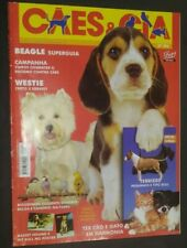 Caes & Cia Brazilian Dog Magazine Beagle Westie Bull Terrier Cover 2002