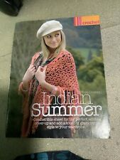 Indian Summer Ladies Shawl Crochet Pattern