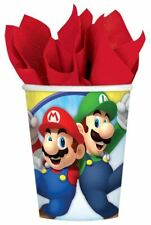 Nintendo Super Mario Paper Cups 266ml - 8 pack Birthday Party Tableware