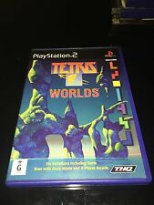 PlayStation PS2 Tetris Worlds THQ