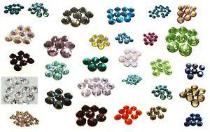 Preciosa hotfix Strasssteine SS30, 6,3 - 6,5 mm, viele Farben, zum aufbügeln
