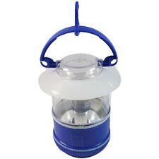 3LED Blue Mini Camping Lantern w/ Convenient Carry Handle