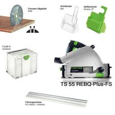 FESTOOL CIRCULAIRE SAW TS 55 REBQ PLUS FS 220/240 V CUTTING PARAGE 561580 FESTO