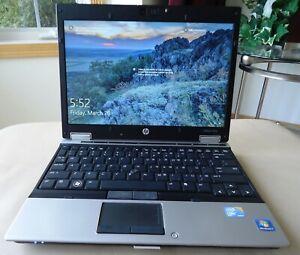 HP EliteBook 2540p i5 2.53GHz 4GB RAM 250GB Win 10 MS Office Webcam Bluetooth