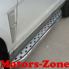 For 10-16 Cadillac SRX SUV Aluminum Running Boards Pair Set Side Steps OE Style