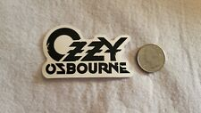 Black and White Ozzy Sticker Decal