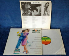 PRIVATE LESSONS - LP SOUNDTRACK - WEA - JAPANESE PRESSING + LYRIC INSERT