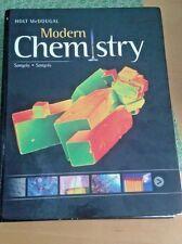 Modern Chemistry Holt McDougal 2012