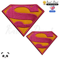 Super Woman Super Hero Embroidered Iron On /Sew On Patch Badge For Clothes etc