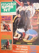 Motosprint 9 1980 Angel Nieto su Derbi - Test Laverda 125 XL [SC.31]