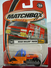 Matchbox Road Roller Paver #36 from 2000