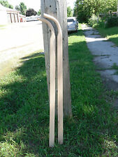 Wood Oak Walking Plow replacement Handles Horse Drawn