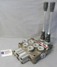Hydraulic manual directional control valve 2 spool 12 GPM Built to your specs