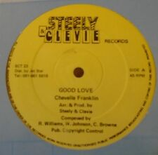 "CHEVELLE FRANKLIN ~ Good Love ~ 12"" Single"